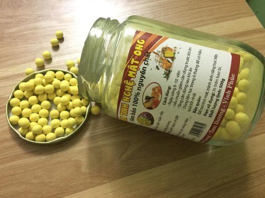 Cách dùng viên tinh bột nghệ mật ong hiệu quả