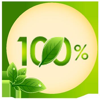 100% thiên nhiên