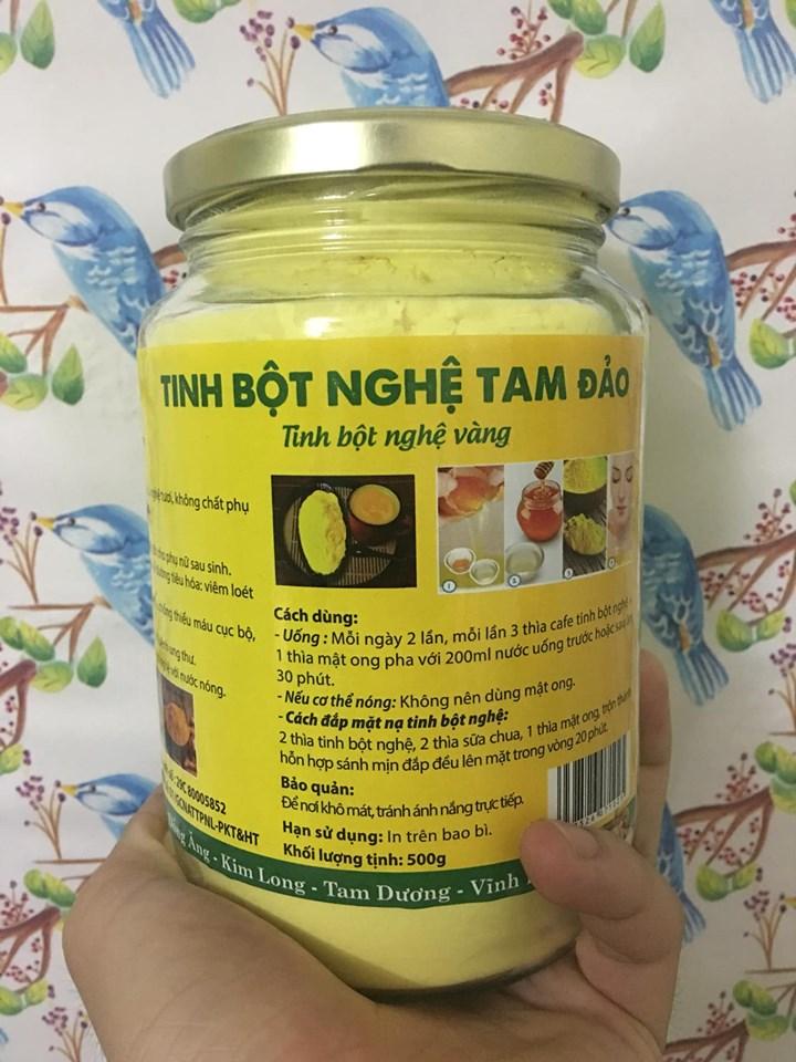 Mua bán tinh bột nghệ tại Quảng Trị