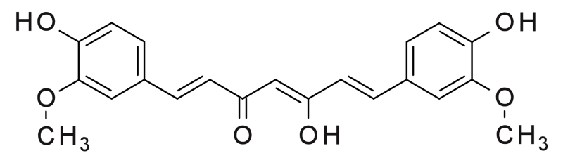 Curcumin chứa nhiều trong tinh bột nghệ tam đảo