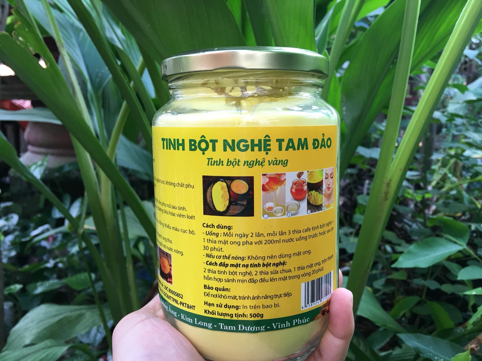Mua bán tinh bột nghệ làm đẹp tại Quảng Bình 1