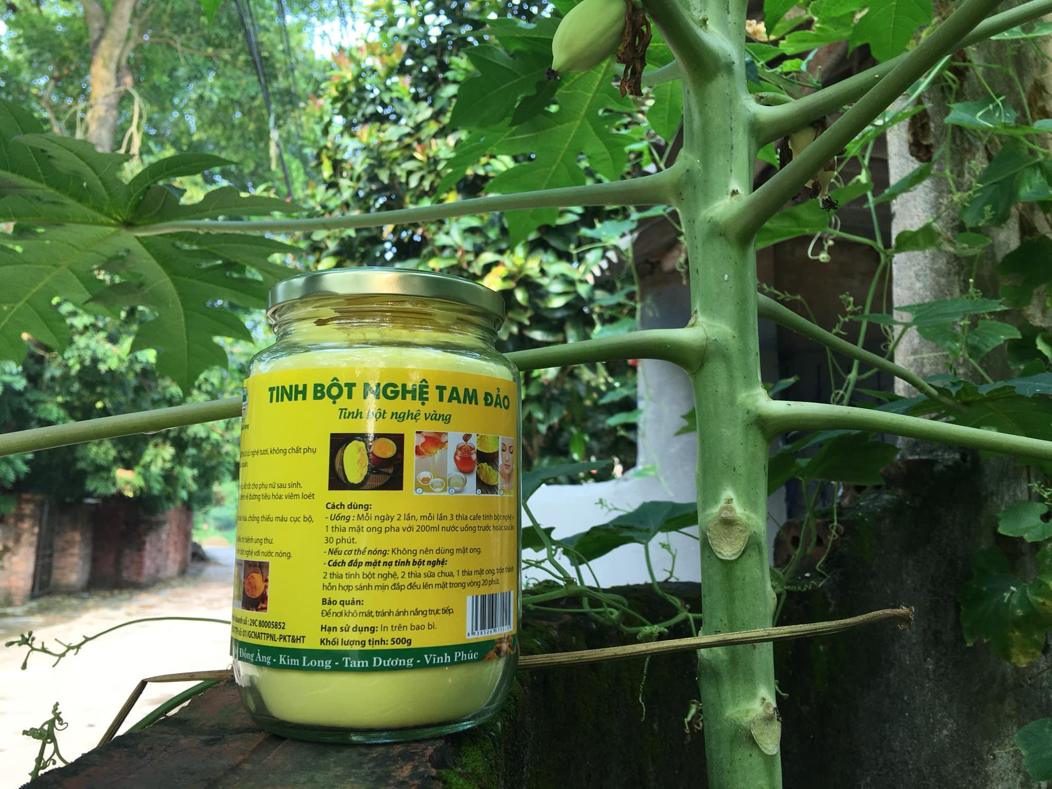 Mua bán tinh bột nghệ làm đẹp tại Quảng Bình 2