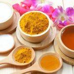 Hướng dẫn cách uống tinh bột nghệ trị mụn nhanh trong 7 ngày