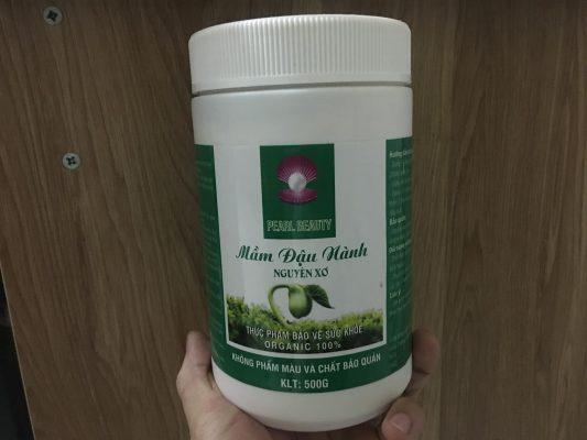 Cách tăng cân an toàn từ mầm đậu nành