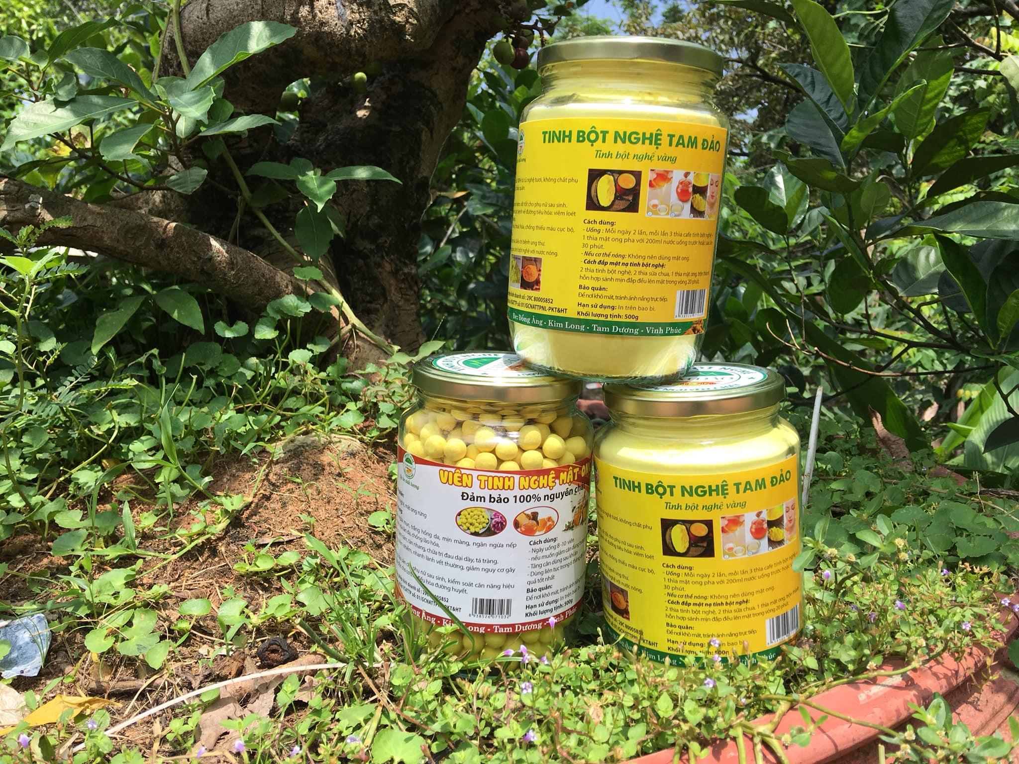 Mua bán tinh bột nghệ tại Bình Phước