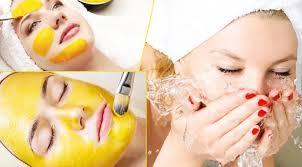 Cách loại bỏ vàng nhạt trên da sau khi đắp mặt nạ tinh bột nghệ xong