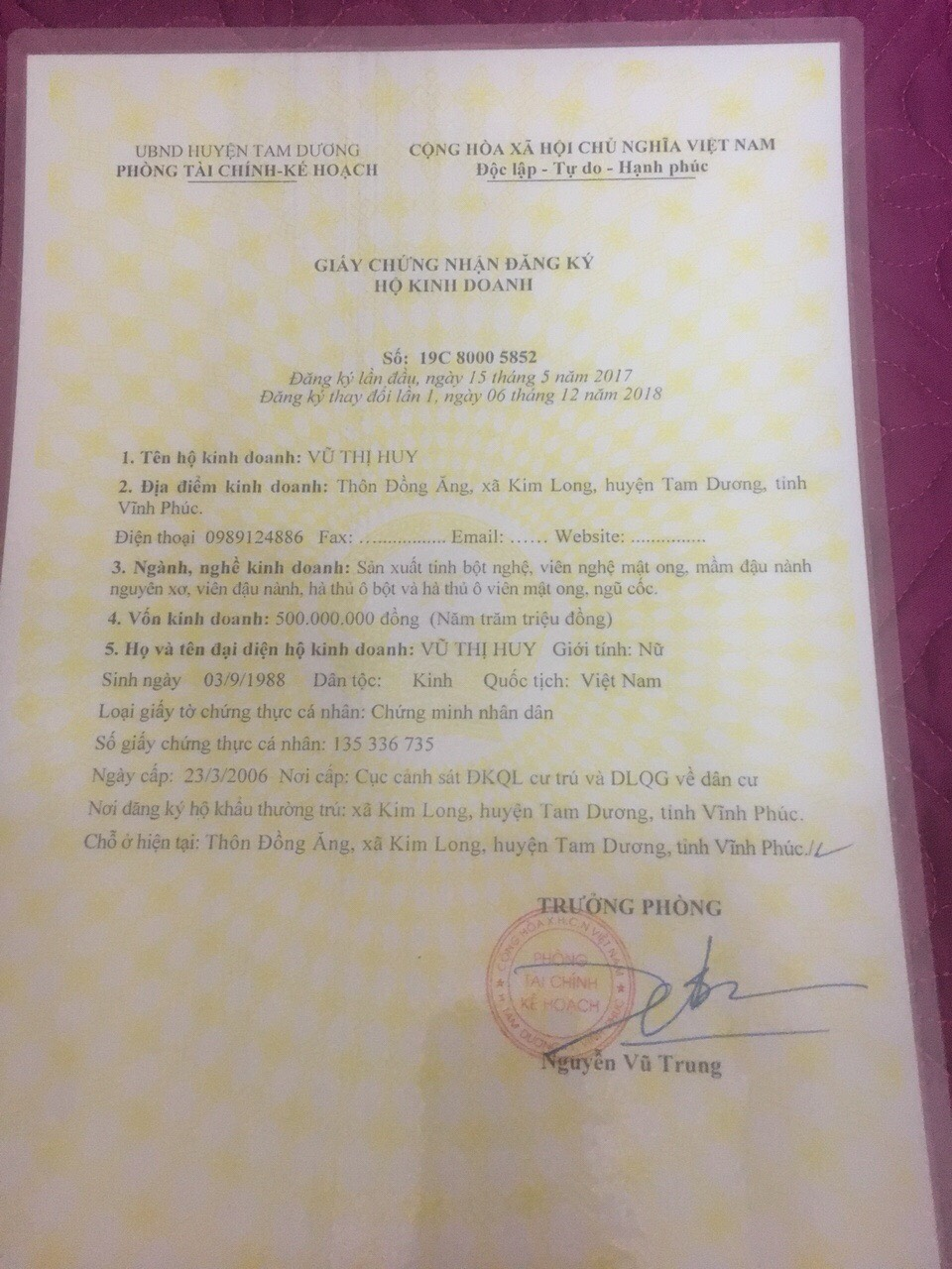 Mua bán tinh bột nghệ chính hãng tại Kiên Giang 2