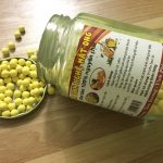 Uống viên tinh bột nghệ mật ong dễ sử dụng tiện lợi.