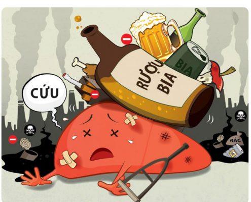 Giải độc bia rượu