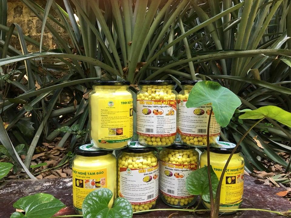 Đại lý tinh bột nghệ tại Thái Bình chất lượng 2