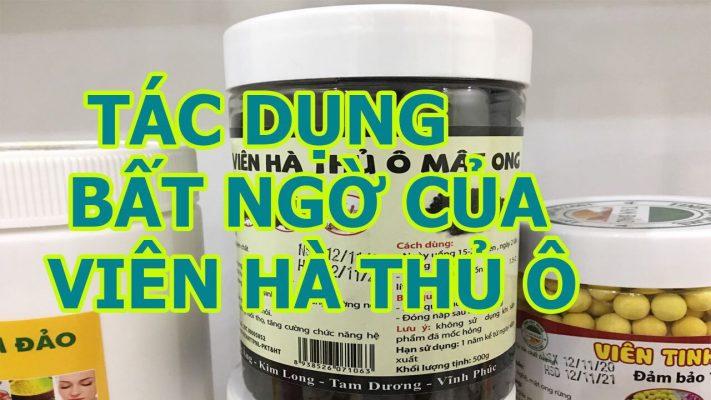 Viên Hà Thủ Ô Tam Đảo tại Vĩnh phúc, Hà Nội vị thuốc quý